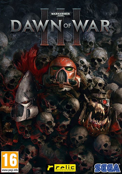 Warhammer 40,000: Dawn of War III - Cover / Packshot