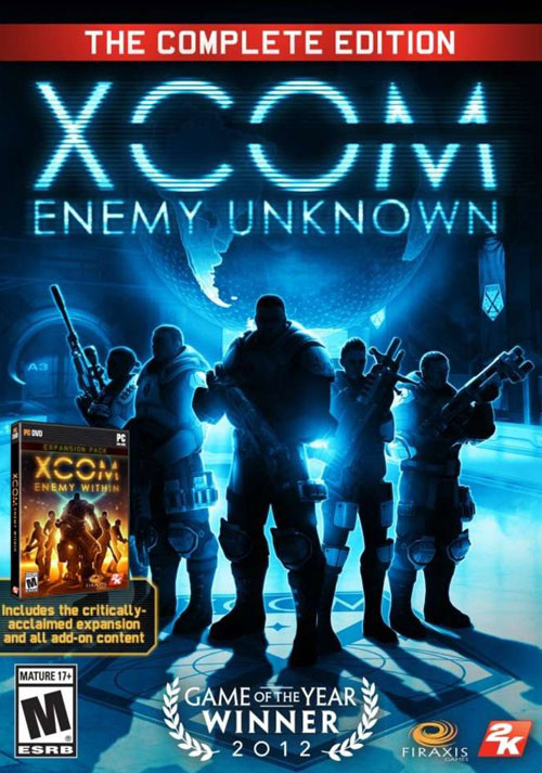 XCOM: Enemy Unknown - The Complete Edition - Packshot