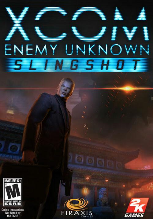 XCOM: Enemy Unknown: Slingshot DLC - Cover