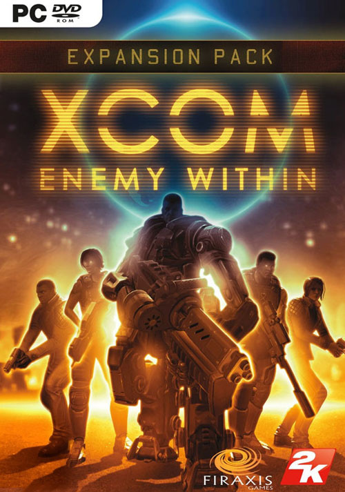 XCOM: Enemy Within - Cover / Packshot