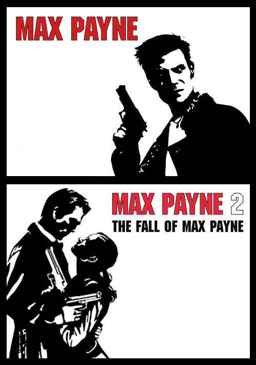 Max Payne Double-Pack (1&2) - Packshot