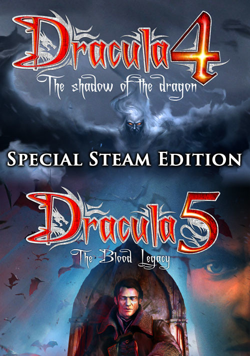 Dracula 4 and 5 - Special Steam Edition - Cover