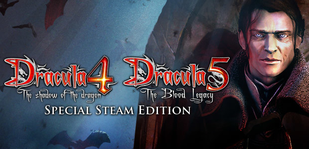 Dracula 4 and 5 - Special Steam Edition - Cover / Packshot