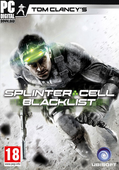 Tom Clancy's Splinter Cell Blacklist - Cover / Packshot