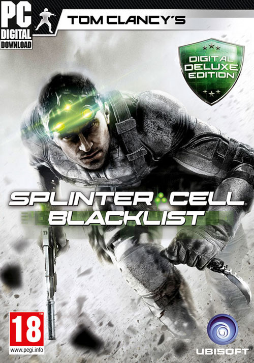 Tom Clancy's Splinter Cell Blacklist - Deluxe Edition - Cover