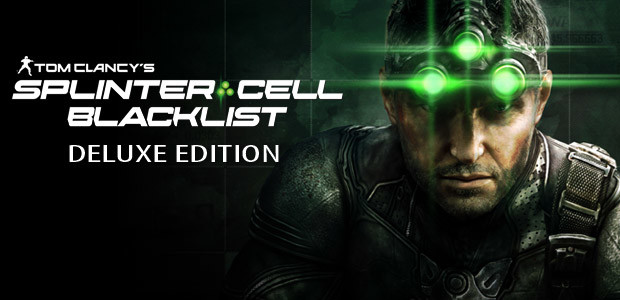 Tom Clancy's Splinter Cell Blacklist - Deluxe Edition - Cover / Packshot