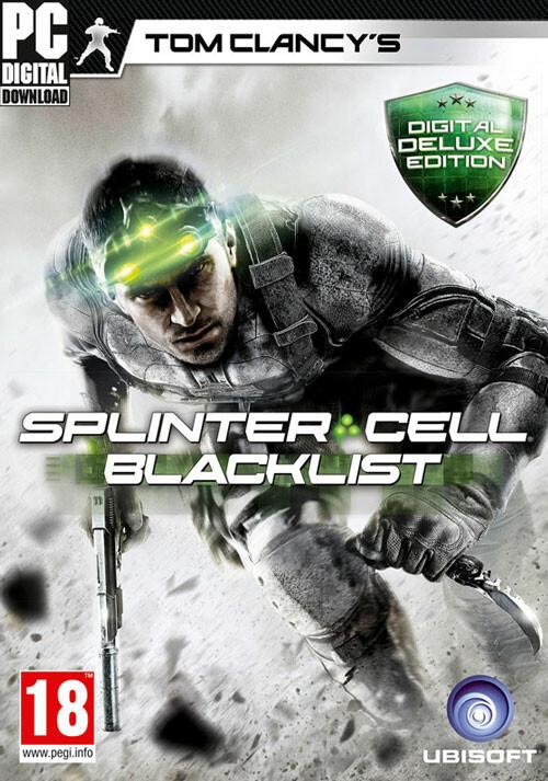 Tom Clancy's Splinter Cell Blacklist - Deluxe Edition - Cover
