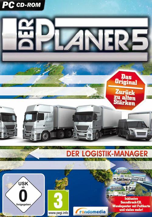 Der Planer 5 - Der Logistik-Manager - Cover / Packshot