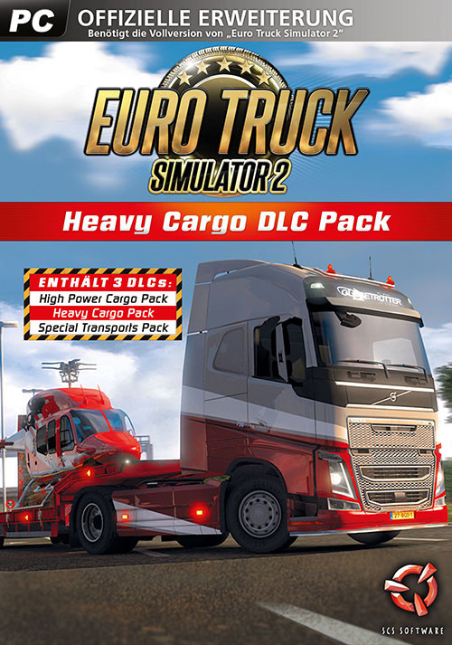 Euro Truck Simulator 2: Heavy Cargo DLC Bundle - Cover