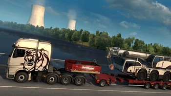 Screenshot10 - Euro Truck Simulator 2: Heavy Cargo DLC Bundle