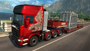 Screenshot1 - Euro Truck Simulator 2: Heavy Cargo DLC Bundle