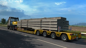 Screenshot4 - Euro Truck Simulator 2: Heavy Cargo DLC Bundle