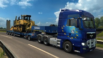 Screenshot5 - Euro Truck Simulator 2: Heavy Cargo DLC Bundle