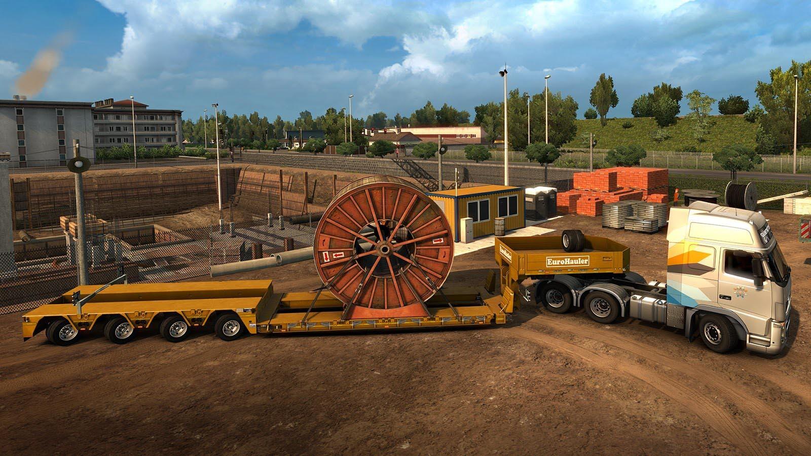 euro truck simulator 2 heavy cargo dlc bundle steam cd. Black Bedroom Furniture Sets. Home Design Ideas