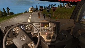 Screenshot7 - Euro Truck Simulator 2: Heavy Cargo DLC Bundle