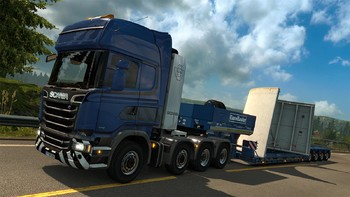 Screenshot8 - Euro Truck Simulator 2: Heavy Cargo DLC Bundle