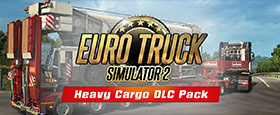 Euro Truck Simulator 2: Heavy Cargo DLC Bundle