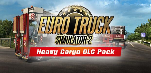 Euro Truck Simulator 2: Heavy Cargo DLC Bundle - Cover / Packshot