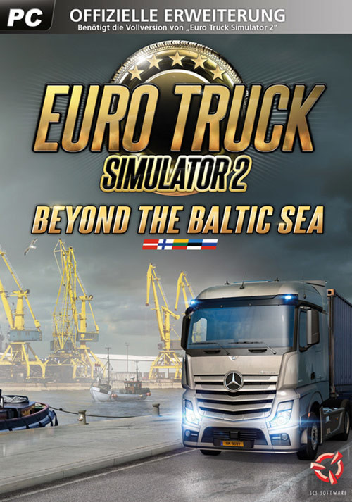 Euro Truck Simulator 2 - Beyond the Baltic Sea - Cover
