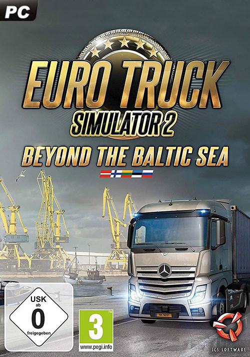 Euro Truck Simulator 2 - Beyond the Baltic Sea - Cover / Packshot