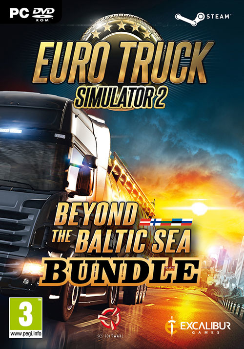 Euro Truck Simulator 2 - Beyond the Baltic Sea Bundle - Cover