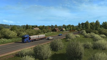 Screenshot1 - Euro Truck Simulator 2 - Beyond the Baltic Sea Bundle