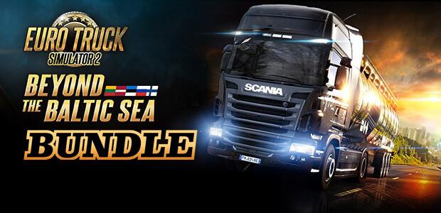 Euro Truck Simulator 2 - Beyond the Baltic Sea Bundle - Cover / Packshot