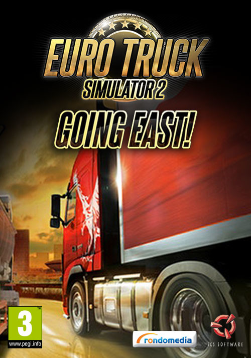 Euro Truck Simulator 2: Going East! Add-on - Cover