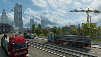 Screenshot1 - Euro Truck Simulator 2: Going East! Add-on