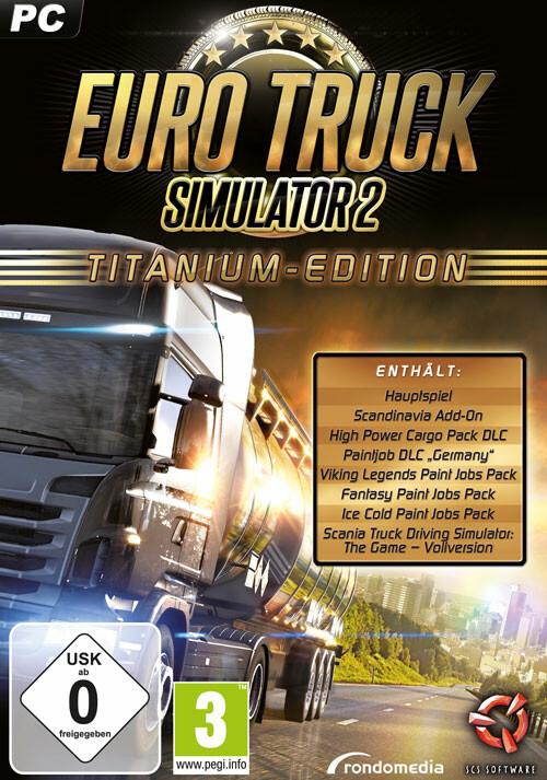 Euro Truck Simulator 2 Titanium-Edition - Cover / Packshot