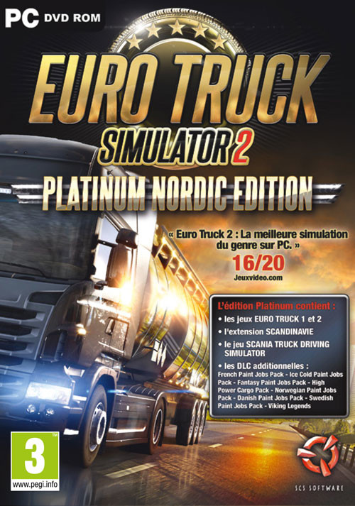 Euro Truck Simulator 2 - Edition Platinum - Cover