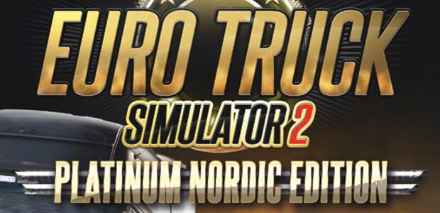 Euro Truck Simulator 2 - Edition Platinum - Cover / Packshot