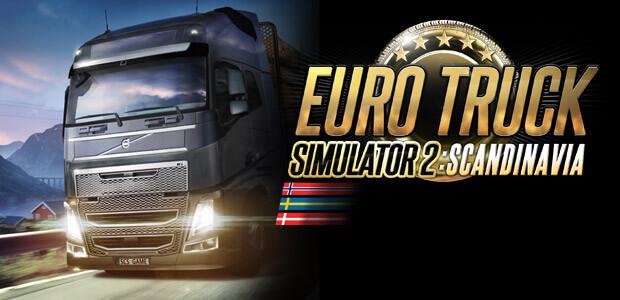 Euro Truck Simulator 2: Scandinavia - Cover / Packshot