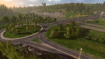 Screenshot1 - Euro Truck Simulator 2: Scandinavia