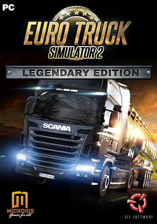 Euro Truck Simulator 2: Legendary Edition - Cover / Packshot