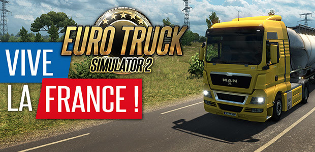 euro truck simulator 2 vive la france steam cd key f r. Black Bedroom Furniture Sets. Home Design Ideas