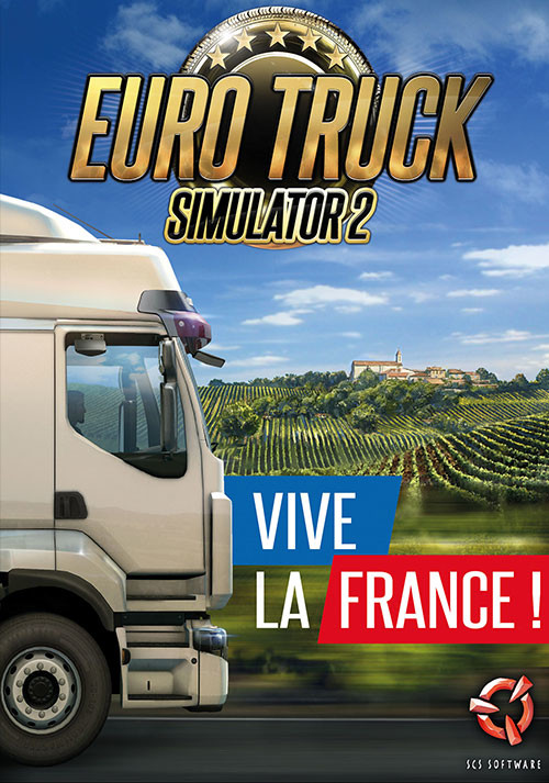 Euro Truck Simulator 2: Vive la France! - Cover / Packshot
