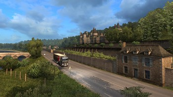 Screenshot2 - Euro Truck Simulator 2: Vive la France!