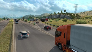 Screenshot1 - Euro Truck Simulator 2: Vive la France!