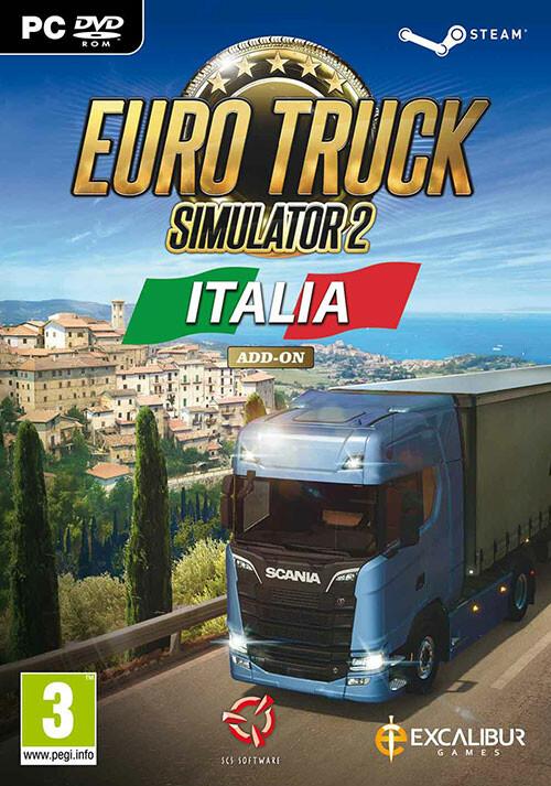 Euro Truck Simulator 2 - Italia - Cover