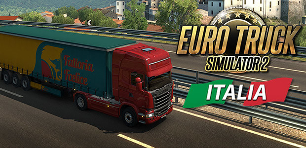 Euro Truck Simulator 2 - Italia - Cover / Packshot
