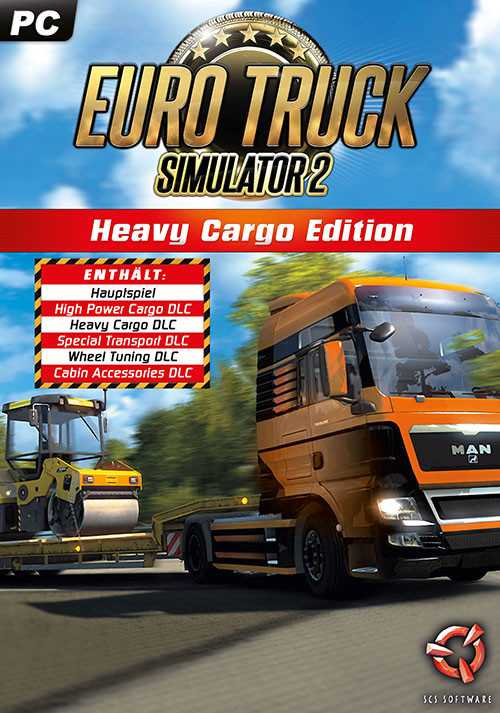 Euro Truck Simulator 2: Heavy Cargo Edition - Cover