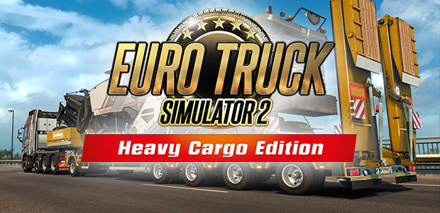 Euro Truck Simulator 2: Heavy Cargo Edition - Cover / Packshot