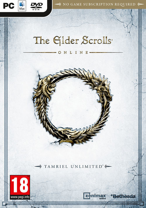 The Elder Scrolls Online: Tamriel Unlimited - Packshot