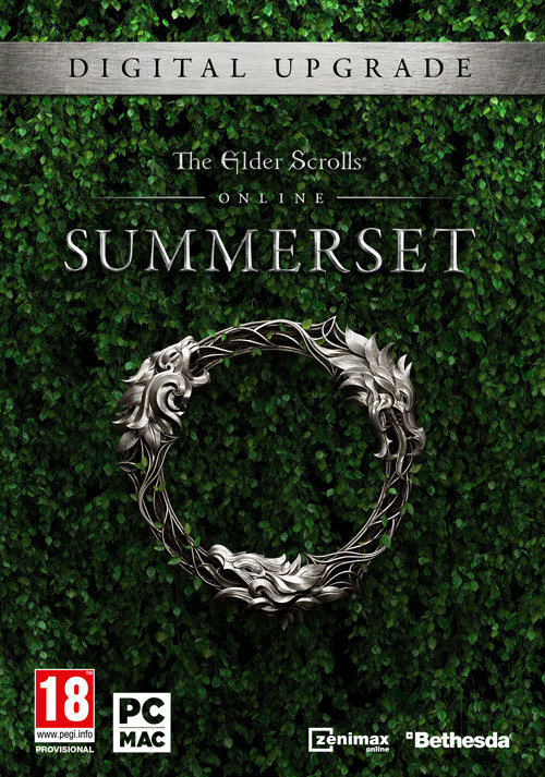 The Elder Scrolls Online: Summerset - Upgrade Edition  - Cover / Packshot