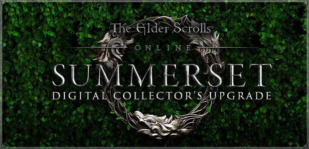 The Elder Scrolls Online: Summerset - Digital Collector's Upgrade - Cover / Packshot