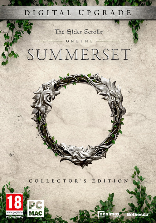 The Elder Scrolls Online: Summerset - Digital Collector's Upgrade - Cover / Packshot