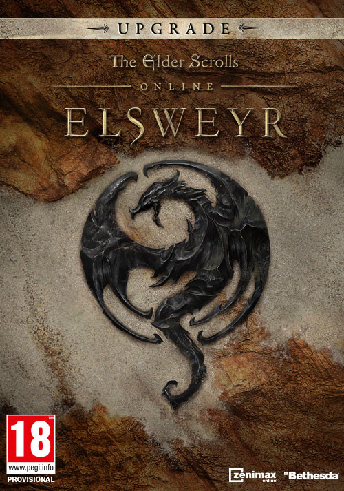 The Elder Scrolls Online: Elsweyr - Digital Upgrade - Cover / Packshot