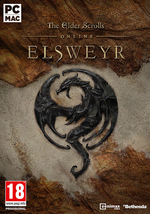 The Elder Scrolls Online: Elsweyr - Cover