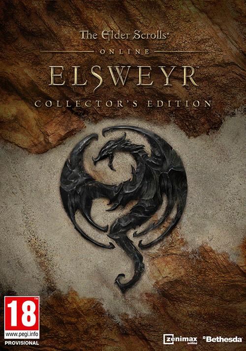 The Elder Scrolls Online: Elsweyr - Digital Collector's Edition - Cover